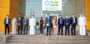GREEK DIPLOMATIC DELEGATION TO UAE VISITS BEE'AH & POLYGREEN'S CIRCULAR ECONOMY FACILITY, EVOGREEN, IN SHARJAH